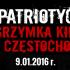 Wyjazd na VIII Patriotyczną Pielgrzymkę Kibiców do Częstochowy