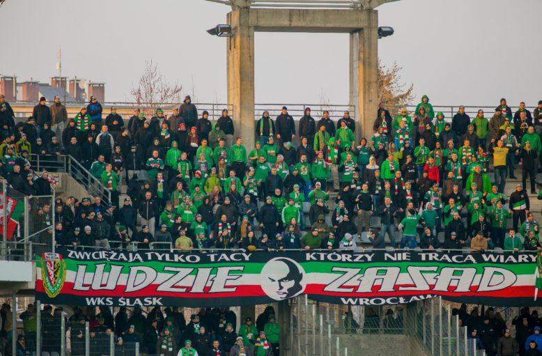 427B - 15 marca 2015r. Korona Kielce - Śląsk Wrocław 2-2. Ludzie Zasad w Kielcach.
