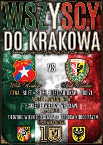 Plakat na wyjazd do Krakowa