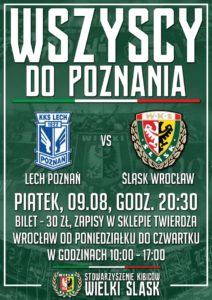 Zapisy na mecz w Poznaniu