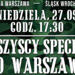 Zapisy na wyjazd do Warszawy