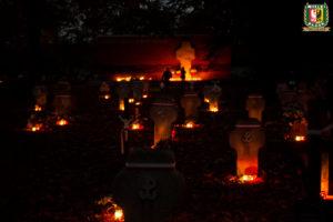 Wizyta na grobach